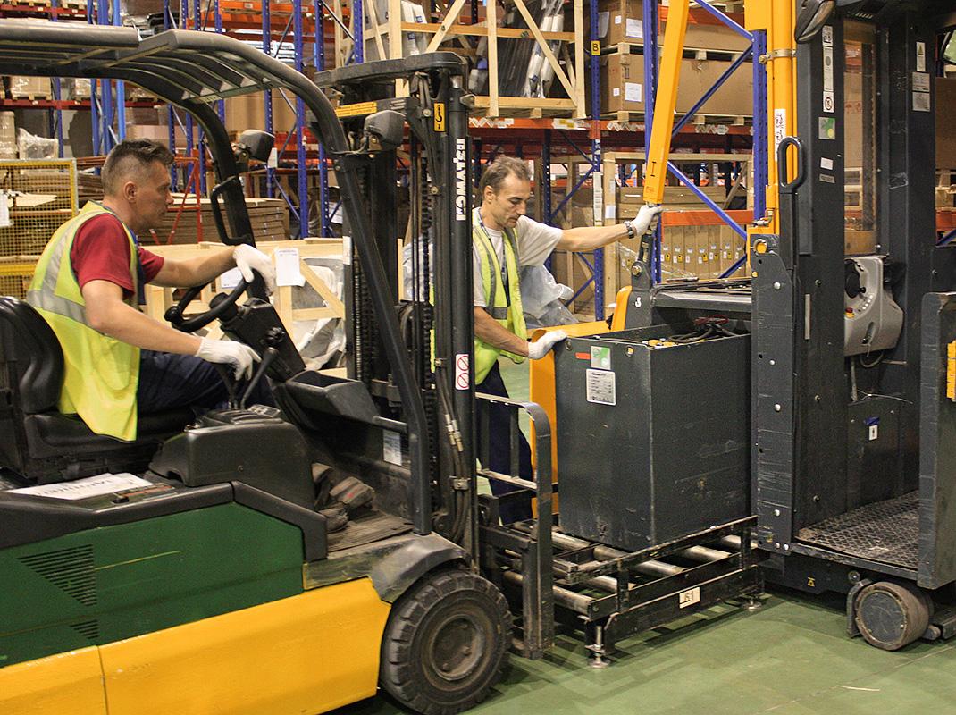 обслуживание складской техники